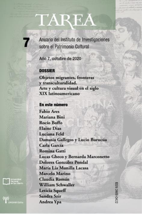 Ver Núm. 7 (2020): Objetos migrantes, fronteras y transculturalidad. Arte y cultura visual en el siglo XIX latinoamericano