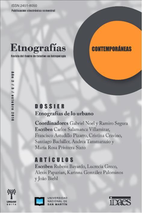 Ver Vol. 2 Núm. 3 (2016): Etnografías Contemporáneas