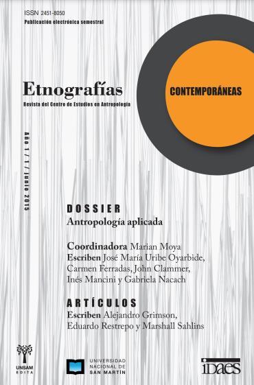 Ver Vol. 1 Núm. 1 (2015): Etnografías Contemporáneas