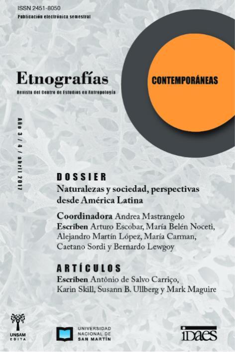 Ver Vol. 3 Núm. 4 (2017): Etnografías Contemporáneas
