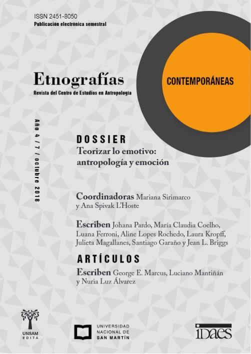 Ver Vol. 4 Núm. 7 (2018): Etnografías Contemporáneas