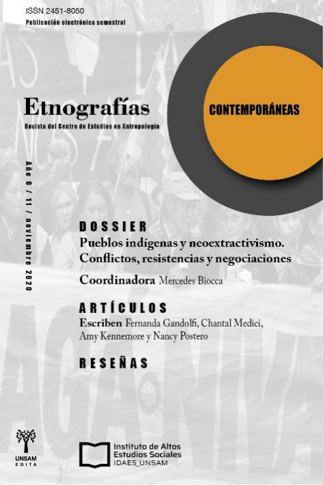 Ver Vol. 6 Núm. 11 (2020): Etnografías Contemporáneas