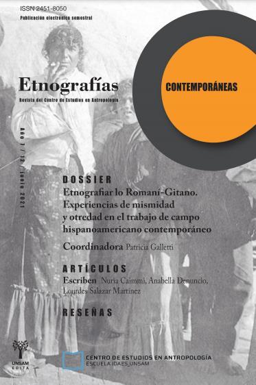 Ver Vol. 7 Núm. 12 (2021): Etnografías Contemporáneas
