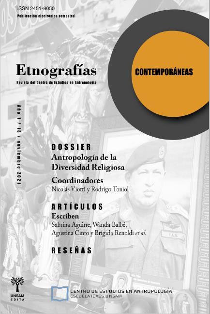 Ver Vol. 7 Núm. 13 (2021): Etnografías Contemporáneas