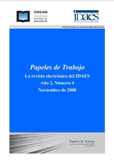 Ver Vol. 2 Núm. 4 (2008)