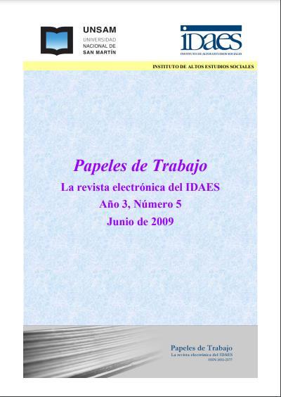 Ver Vol. 3 Núm. 5 (2009)
