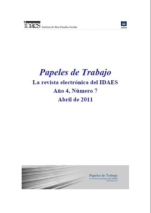 Ver Vol. 5 Núm. 7 (2011)