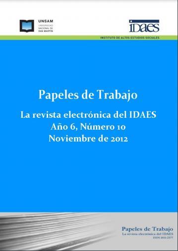 Ver Vol. 6 Núm. 10 (2012)