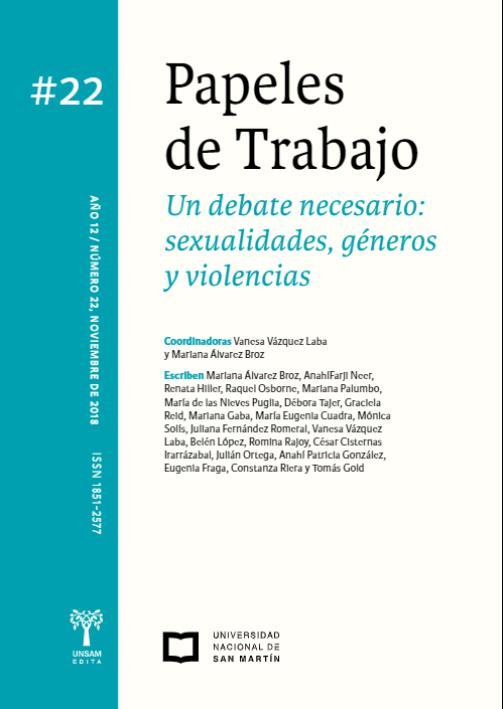 Ver Vol. 12 Núm. 22 (2018): Un debate necesario: sexualidades, géneros y violencias