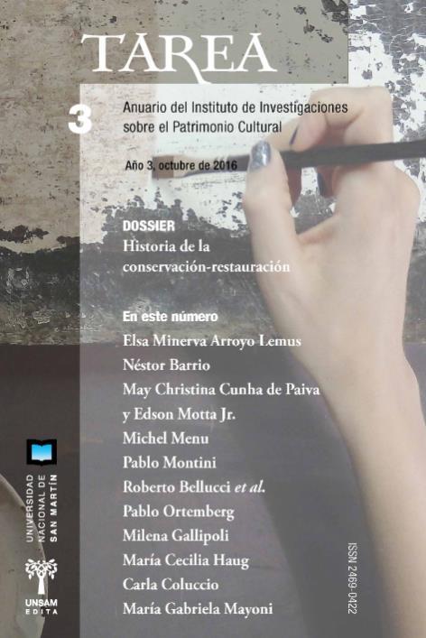 Ver Núm. 3 (2016): Historia de la conservación - restauración